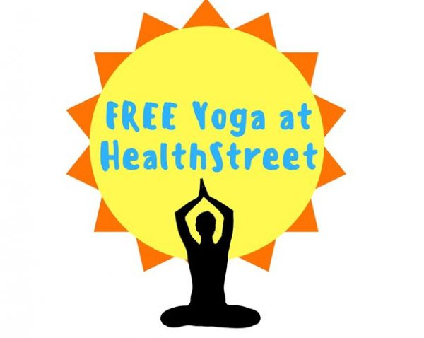 Exercise with HealthStreet: Free Yoga and Zumba for our Members!