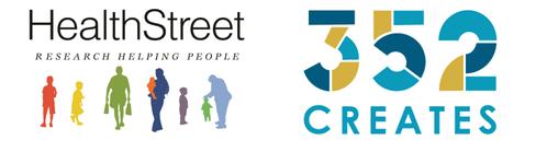 HealthStreet & 352Creates logos